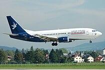 Slovak Airlines Boeing 737-300 OM-AAD.jpg