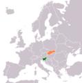 Slovakia Slovenia Locator.png