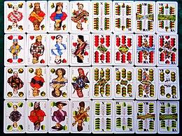 Deutsches Blatt Karten