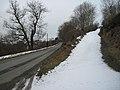 Snowy entrance off B4580 - geograph.org.uk - 1722841.jpg