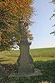 Socha svatého Vincence, na křižovatce směr Miskolezy a Jaroměř 01.JPG