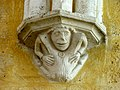 Soissons (02), abbaye Saint-Jean-des-Vignes, réfectoire, cul-de-lampe à l'intersection des deux vaisseaux, côté sud.jpg