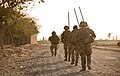Soldiers With 5 Rifles on Patrol in Afghanistan MOD 45157845.jpg