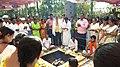Somvati yag at Veerabhadra Devasthan Vadhav in presence of Balyogi Om Shakti Maharaj. 12.jpg