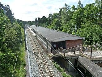 Sorgenfri station - Image: Sorgenfri Station 04