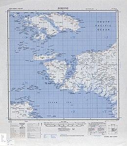 Topographisches Kartenblatt (1942)