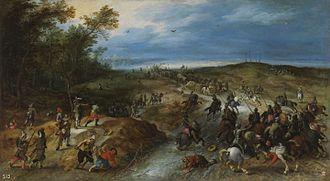 Sebastiaen Vrancx - Assault on a convoy