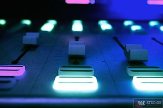 WXSU-LP - Image: Sound board close up
