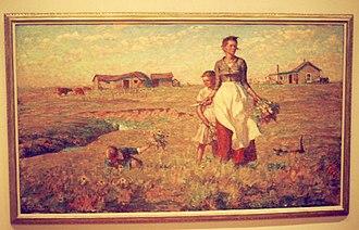 Harvey Dunn - The Prairie is My Garden at South Dakota State University