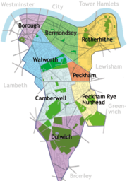 Southwark areas