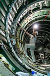 Soyuz MS-12 spacecraft in the integration facility (1).jpg
