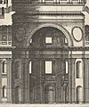 Speculum Romanae Magnificentiae- Longitudinal Section Showing the Interior of Saint Peter's Basilica as Conceived by Michelangelo (Published in 1569) MET DP830326.jpg