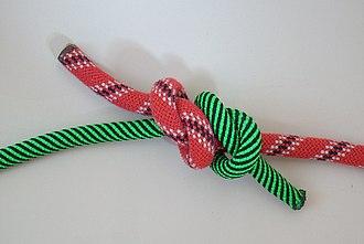 Fisherman's knot - Image: Spierenstich 3