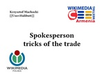 Spokesperson tricks of the trade.pdf