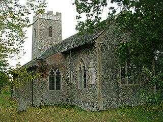 St Faiths Church, Little Witchingham Church in Norfolk, England