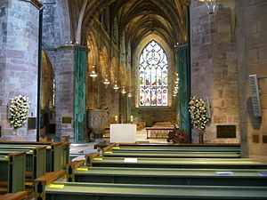 St Giles' Cathedral - St Giles interior, 2012