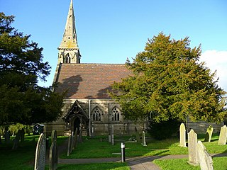 St Johns Church, Marchington Woodlands Church