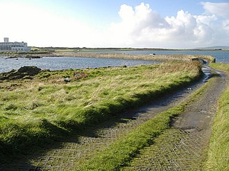 Magnús Óláfsson - Image: St. Michael's Isle causeway, Isle of Man geograph.org.uk 263932