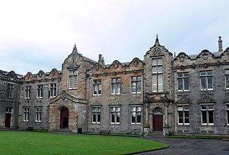 St Salvator's College, St Andrews - St Salvator's Quad