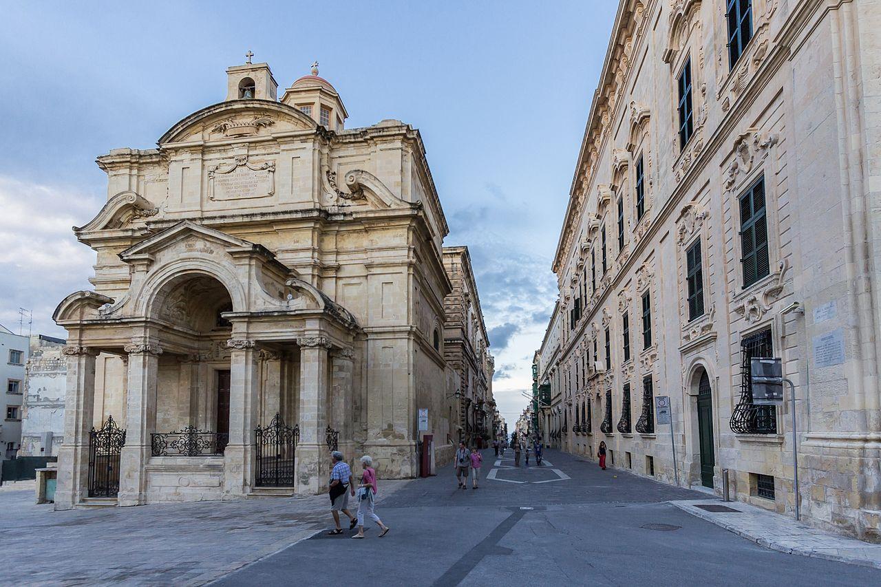 File:St Catherine of Italy Church, Valletta.jpg ...