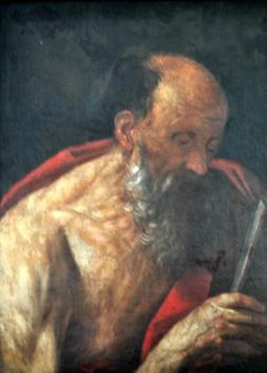 Italian Baroque art - Image: St Jerome