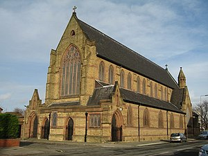 Kirkdale, Liverpool - Image: St John the Evangelist, Fountain Road, Kirkdale geograph.org.uk 680426