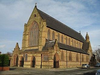 Kirkdale, Liverpool - Image: St John the Evangelist, Fountain Road, Kirkdale geograph.org.uk 680426