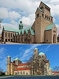 St Mary's Cathedral and St Michael's Church at Hildesheim.jpg