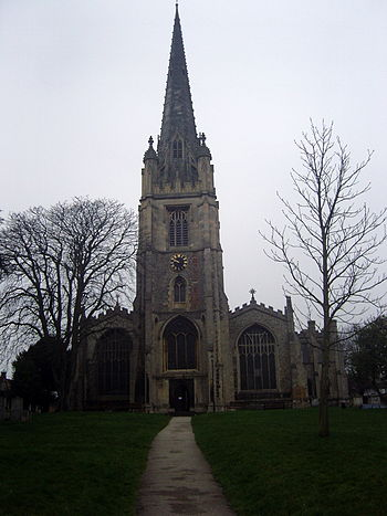 St Mary's Church, Saffron Walden, Essex