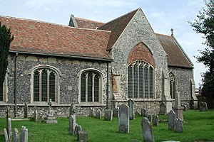 Wingham, Kent - Image: St Mary, Wingham, Kent