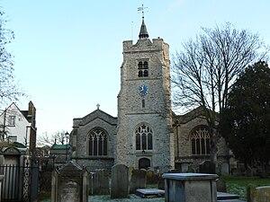 Chiswick - Image: St Nicholas church Chiswick 806r