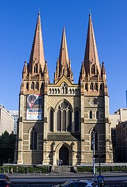 St Paul's Cathedral, Melbourne 2017-10-30