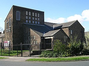 George Pace - St Saviour's Church, Fairweather Green, Bradford, one of Pace's Modernist churches
