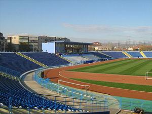 Stadionul Municipal (Drobeta-Turnu Severin) - Image: Stadionulm DTS