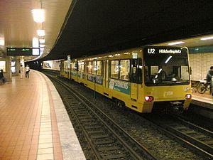 Stuttgart Stadtbahn - Stuttgart Rathaus Stadtbahn underground station