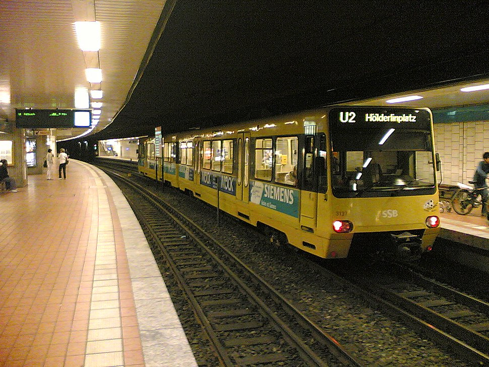 Stadtbahn Stuttgart - Hst Rathaus