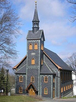 Neuhaus am Rennweg - Church in Neuhaus am Rennweg