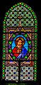 Stained-glass window of the Saint Martial Church of Marcillac-Vallon 08.jpg