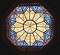 Stained Glass Ceiling - Great Hall - National Portrait Gallery.JPG
