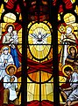 Stained Glass Window in Holy Rosary Cathedral - Vancouver - BC - Canada (24127673968) (2).jpg