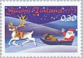 Stamp of Finland - 1973 - Colnect 46694 - Santa Claus with Sledge and Gifts.jpeg