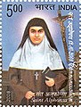 Stamp of India - 2008 - Colnect 158004 - Cannonization Saint Alphonsa.jpeg