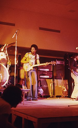 Stanley Clarke - Clarke with Return to Forever, Onondaga Community College, Syracuse, New York, 1974