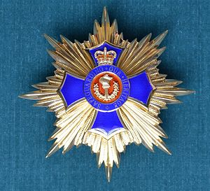 Order of Princely Heritage - Image: Star of the Order of Princely Heritage