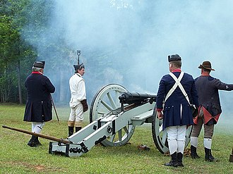 Ninety Six National Historic Site - Reenactors at the 225th anniversary celebration