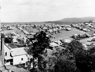 Paddington, Queensland - View of Paddington c.1902