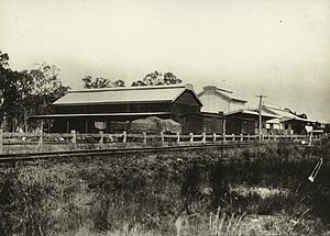 Doomben railway line - Image: State Lib Qld 2 254857 Ginnery at Whinstanes, Brisbane