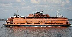 the ferryboat Spirit of America