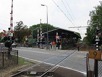 Bilthoven railway station - Image: Station Bilthoven 20061026