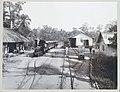 Station Smalspoor Deli Maatschappij te Stabat op Sumatra Station Smalspoor Deli Maatschappij te Stabat. (titel op object), RP-F-F80009-A.jpg